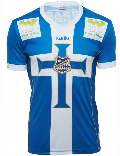 Camisa oficial do Agua Santa