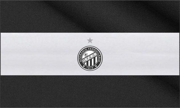 Bandeira do Operário Ferroviário - Grande