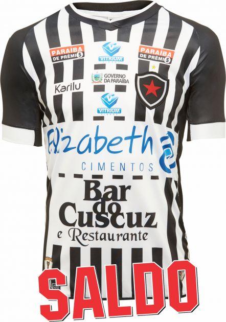 Camisa oficial do Botafogo-PB - modelo 1 C/ PATROCINIOS