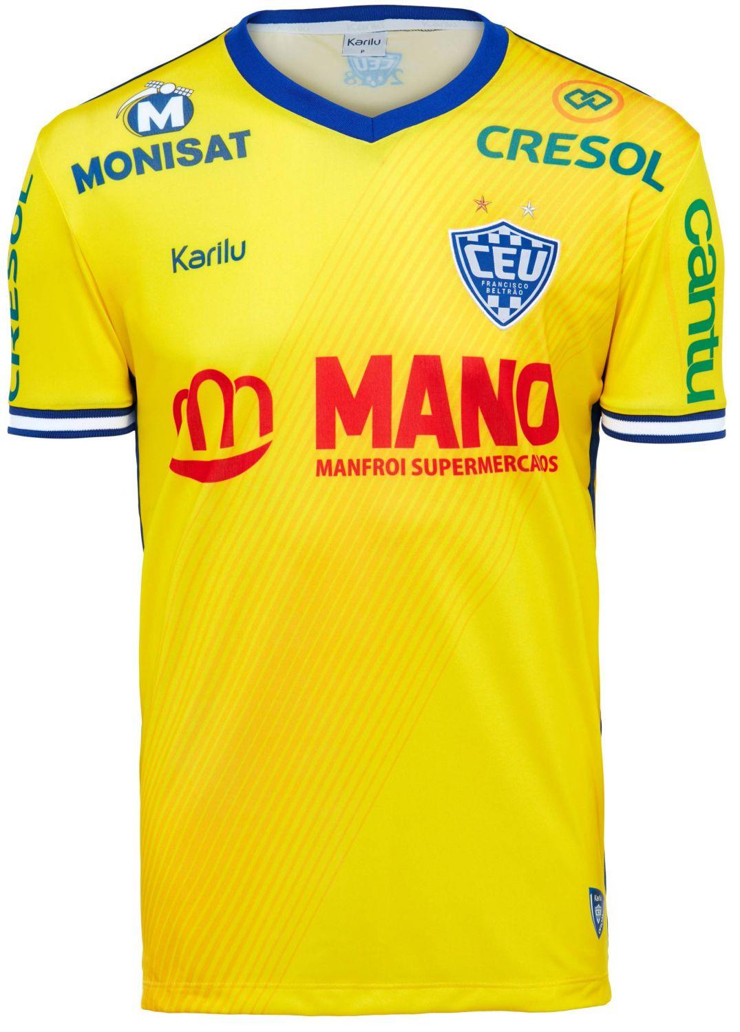 Camisa oficial do Clube Esportivo União - modelo 3 na Karilu 0cf2ae95267ec