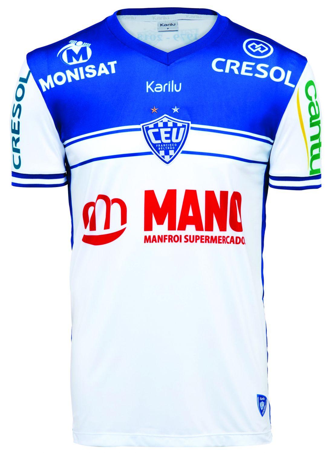 Camisa oficial do Clube Esportivo União - modelo 2 na Karilu 4afc9b70a4149