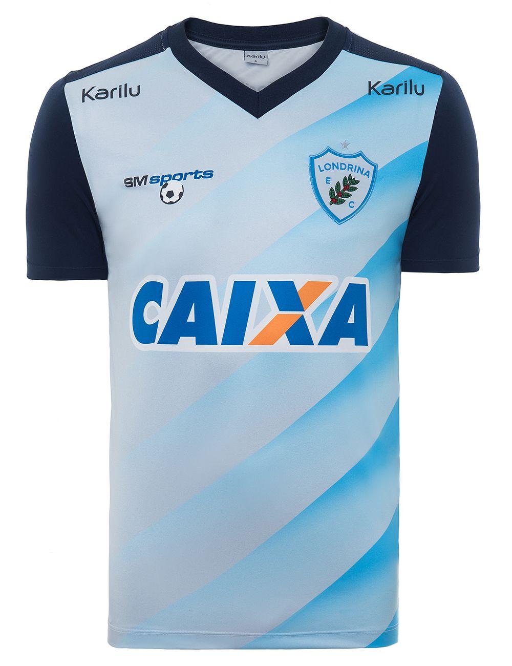 Camisa de Comissão Técnica - Londrina 2017 na Karilu b15953e5ce04f