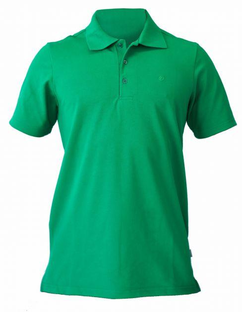 Camisa em piquet com gola polo