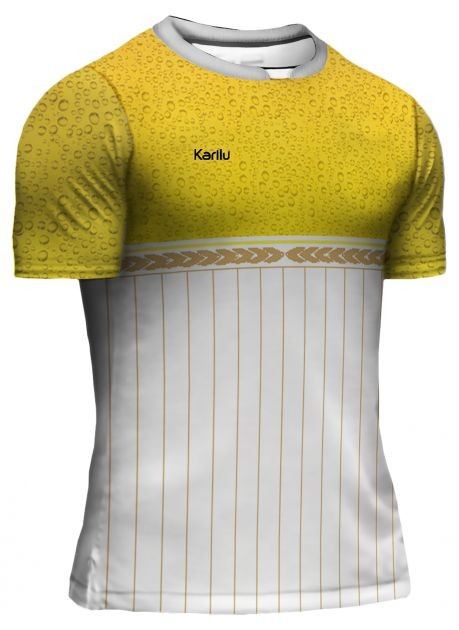 Camisa para futebol modelo Cervejeiros