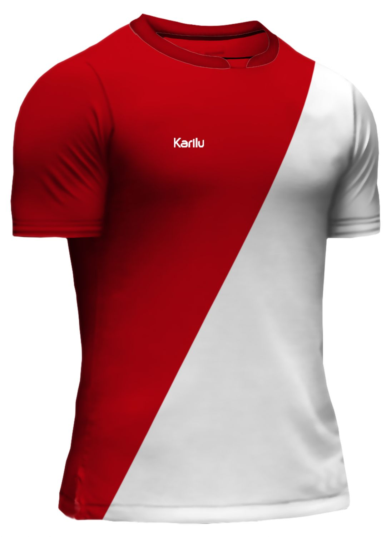 84a0690a89288 Camisa para futebol modelo Mônaco na Karilu