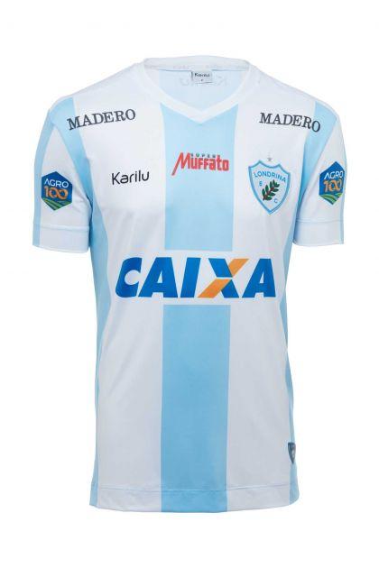 Camisa INFANTIL do Londrina - Listrado - BRASILEIRÃO 2018
