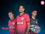 Camisa oficial do Londrina BRASILEIRÃO 2017 Outubro Rosa