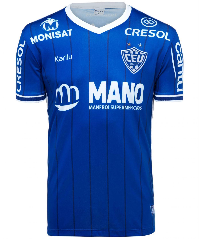 75b7ccd5e Camisa oficial do Clube Esportivo União - modelo 1 na Karilu