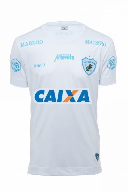 Camisa oficial do Londrina - BRANCO - BRASILEIRÃO 2018