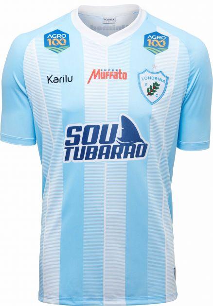 Camisa oficial do Londrina - Listrado - 2019 INFANTIL