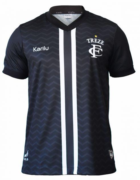 Camisa oficial do Treze Futebol Clube  - 2020- PRETO SEM PATROCINIOS