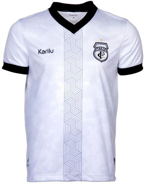 Camisa oficial do Treze Futebol Clube  - 2021 - BRANCA SEM PATROCINIOS