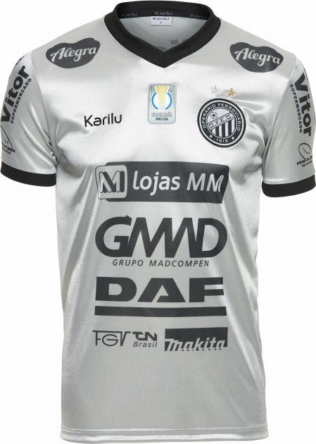 Camisa oficial do Operário - PRATA 2018