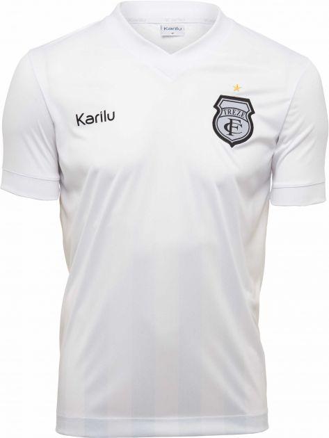 <VENDA SUSPENSA DEVIDO AO COVID-19> Camisa oficial do Treze Futebol Clube  - 2020- Branca SEM PATROC