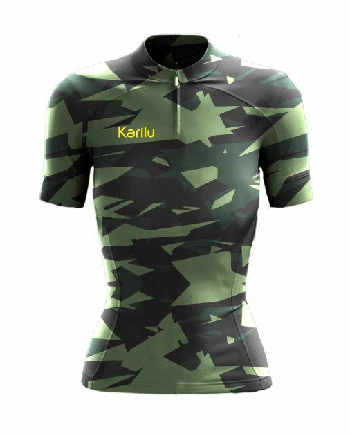 Camisa para Ciclismo - Camouflaged