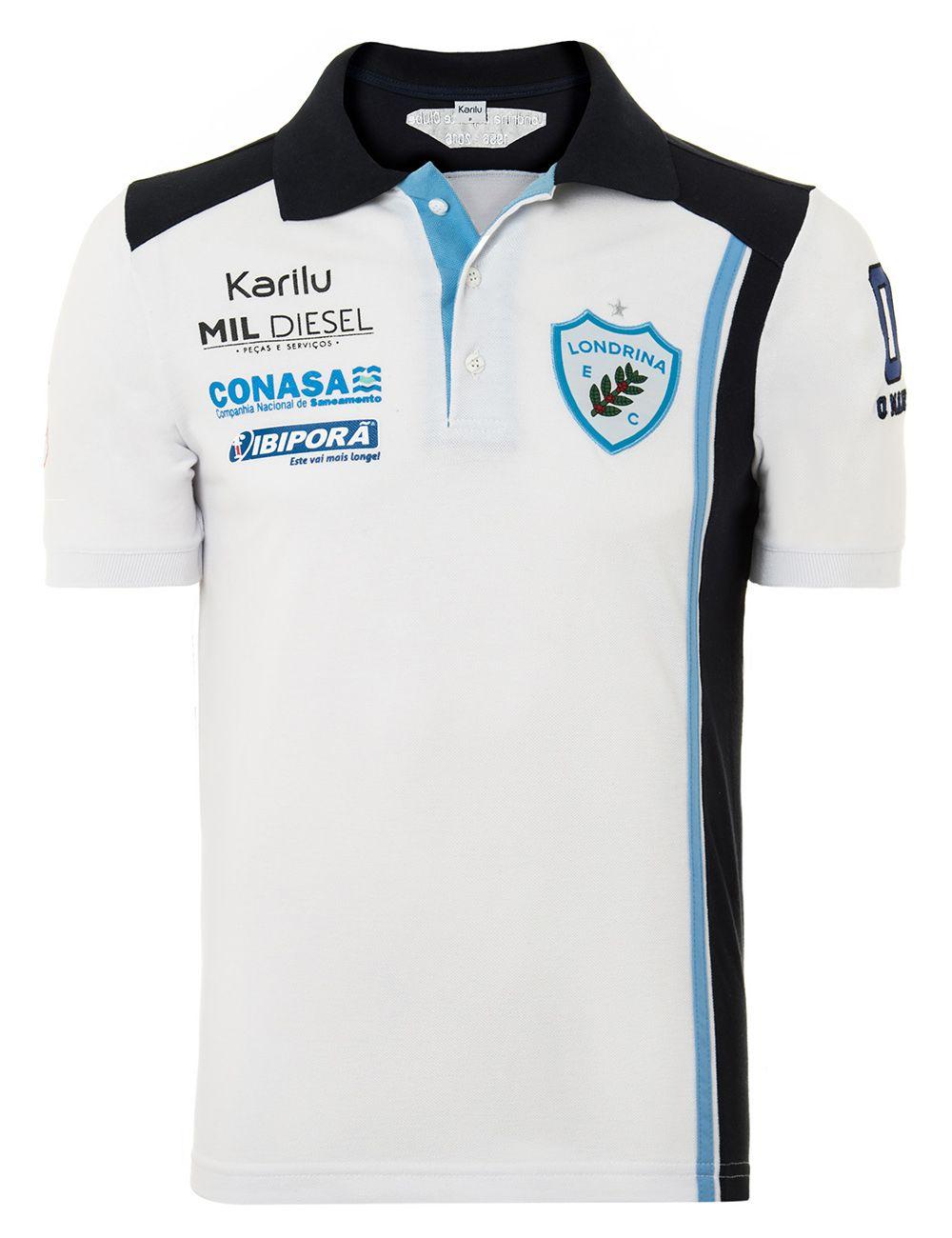 Camisa polo Londrina FÓRMULA TRUCK na Karilu 0847fc13c3aad