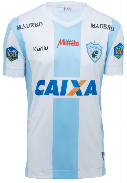 Camisa oficial do Londrina - Listrado - BRASILEIRÃO 2018