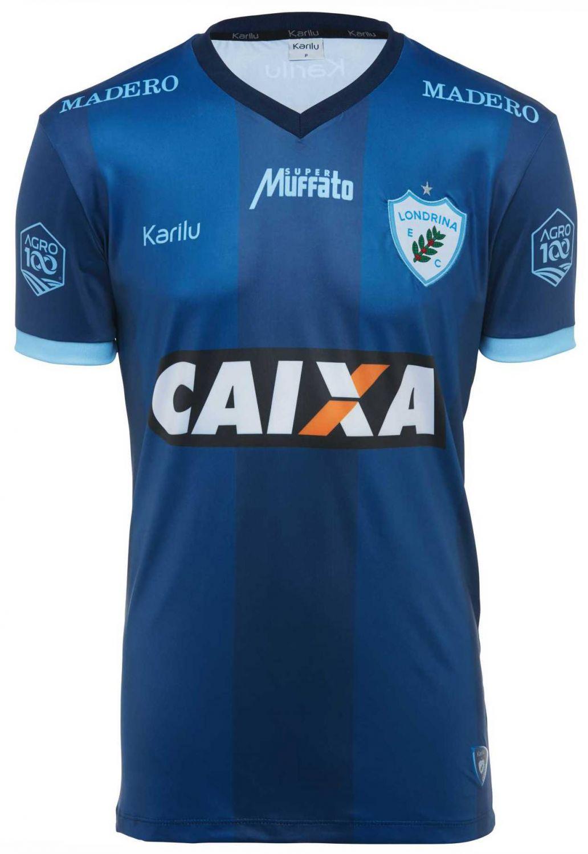 Camisa oficial do Londrina - Marinho - BRASILEIRÃO 2018 na Karilu 745ee24f9fe47