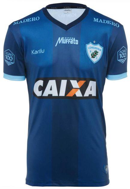 Camisa oficial do Londrina - Marinho - BRASILEIRÃO 2018