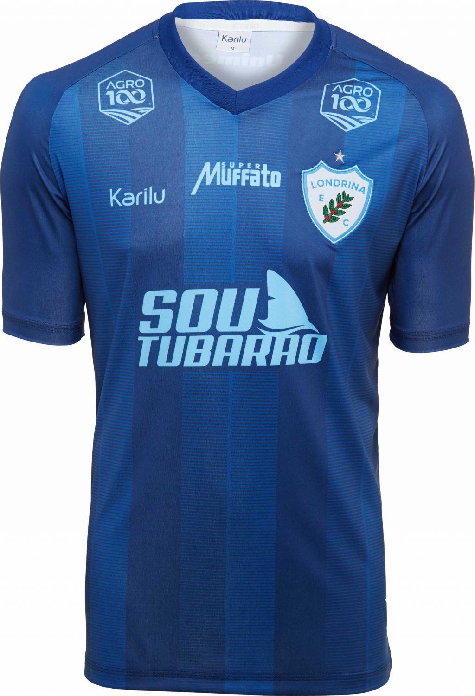 4508b0df9435e Camisa oficial do londrina marinho na karilu jpg 1024x1500 Camisa futebol  sem