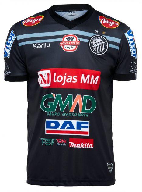 Camisa oficial do Operário - Preto  2018