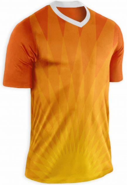 Camisa para futebol modelo ORANGE