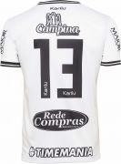 Camisa oficial do Treze Futebol Clube  - 2019 - Branca