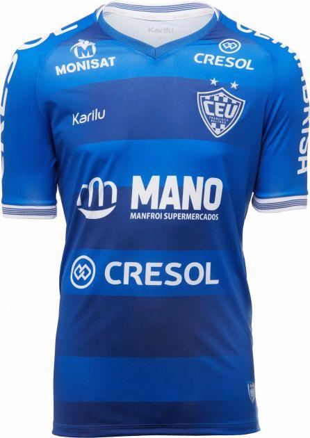 Camisa oficial do Clube Esportivo União - modelo 1 2020